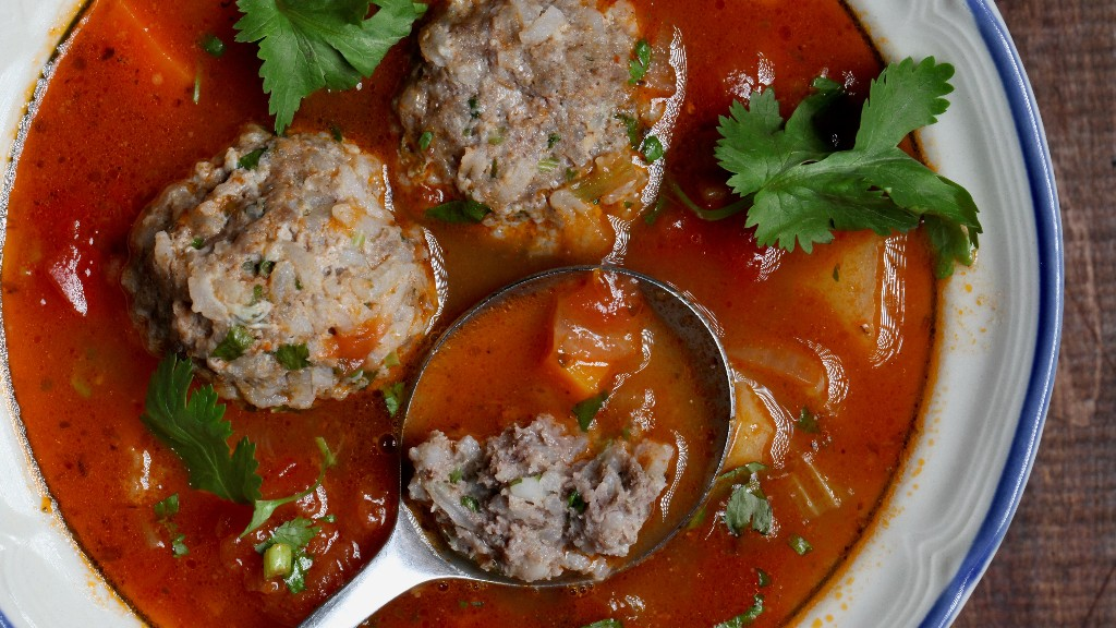 Albondigas Soup Recipe (Mexican Meatball Soup)
