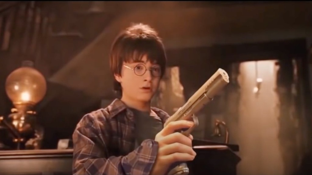 Viral Parody of Harry Potter Movie Replaces Wands with Guns