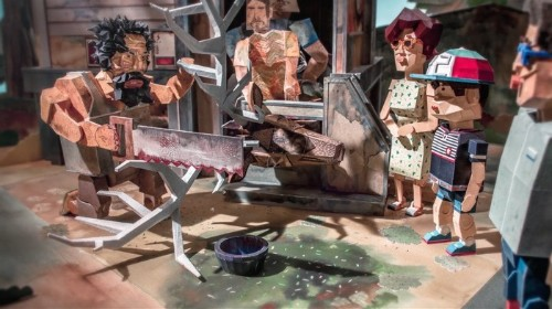 This 3D Printed Stop-Motion Shows How Far Parents Will Go for Their Kids