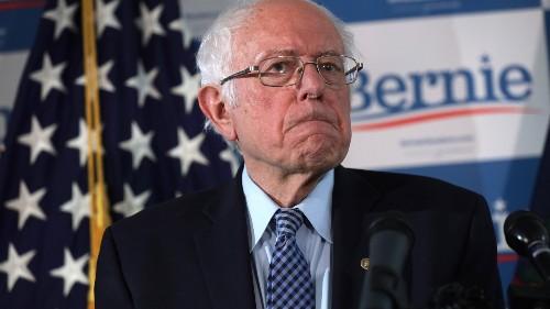 2020 Presidential Hopeful: SEN. BERNIE SANDERS - cover