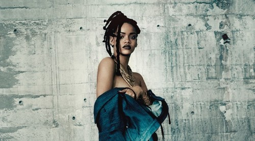 breaking! rihanna and manolo blahnik team up for all-denim shoe collection