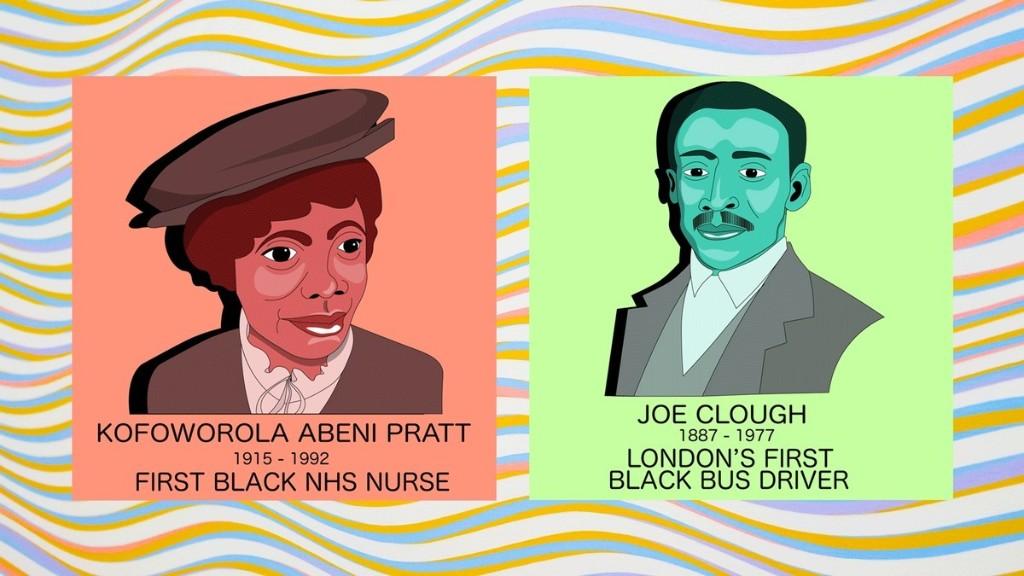 The Illustrator Celebrating Britain's Unsung Black Trailblazers