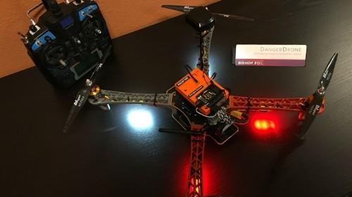 The 'Danger Drone' Is a $500 Flying Hacker Laptop