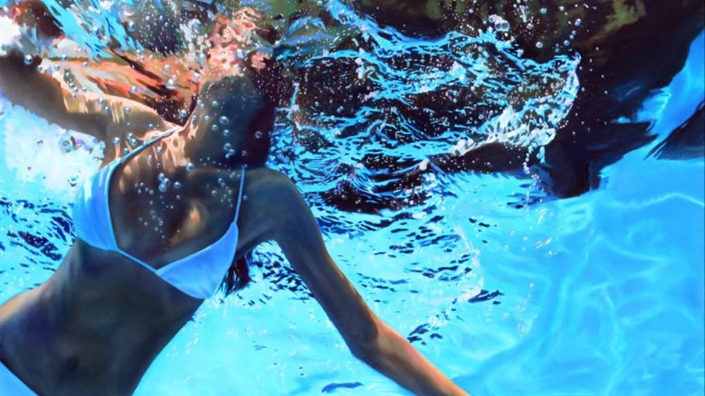 Unbelievable Realist Paintings of Women Underwater Look Like Photos