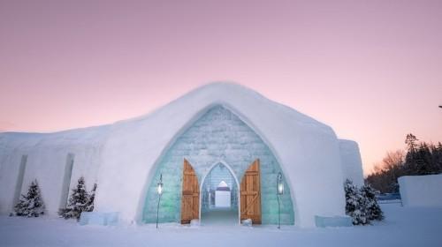 En Quebec el invierno significa arte: Una plática con Martin Ernst, escultor del Hotel de Hielo