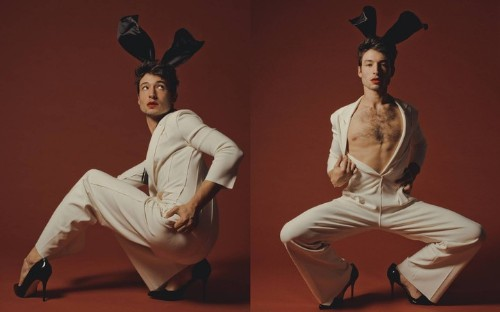 ezra miller is the playboy bunny we've been waiting for