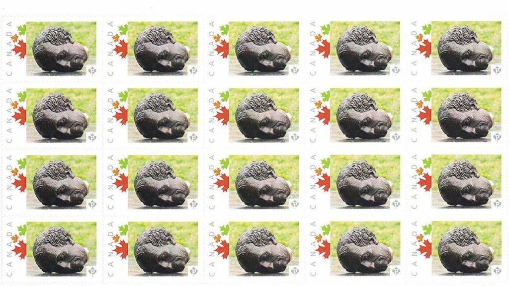 Canada Post Printed Stamps With Former Prime Minister's Decapitated Head