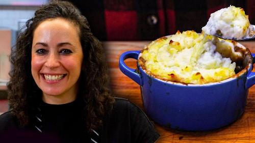 Mashed Potato Pork Pie - The Cooking Show