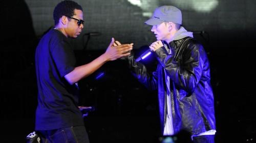"JAY-Z Convinced Beyoncé to Appear on Eminem's ""Walk on Water"""