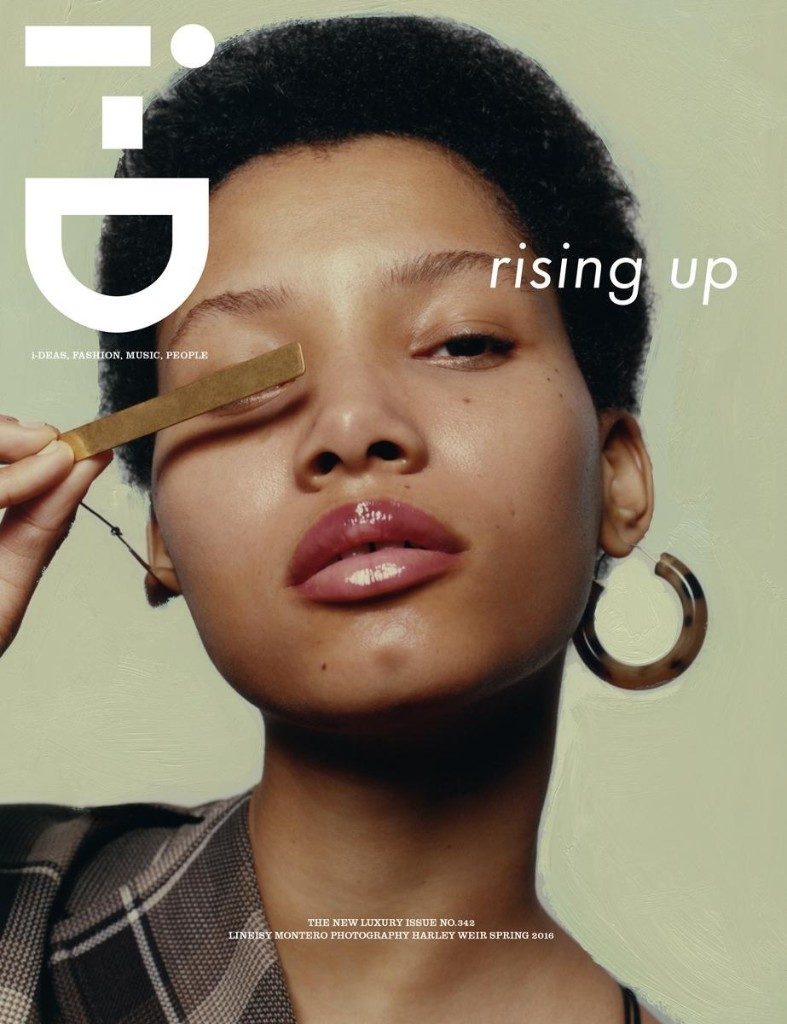 get the first look at i-D's new luxury issue!