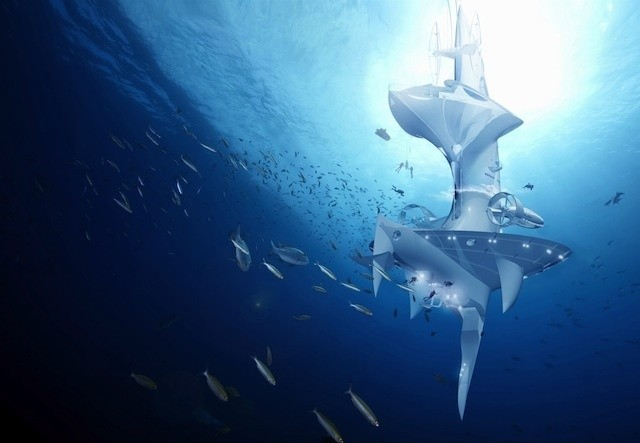 Ocean exploration-sample - Magazine cover
