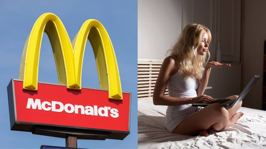 This Adult Site Is Offering Ex-McDonald's Employees Camming Work