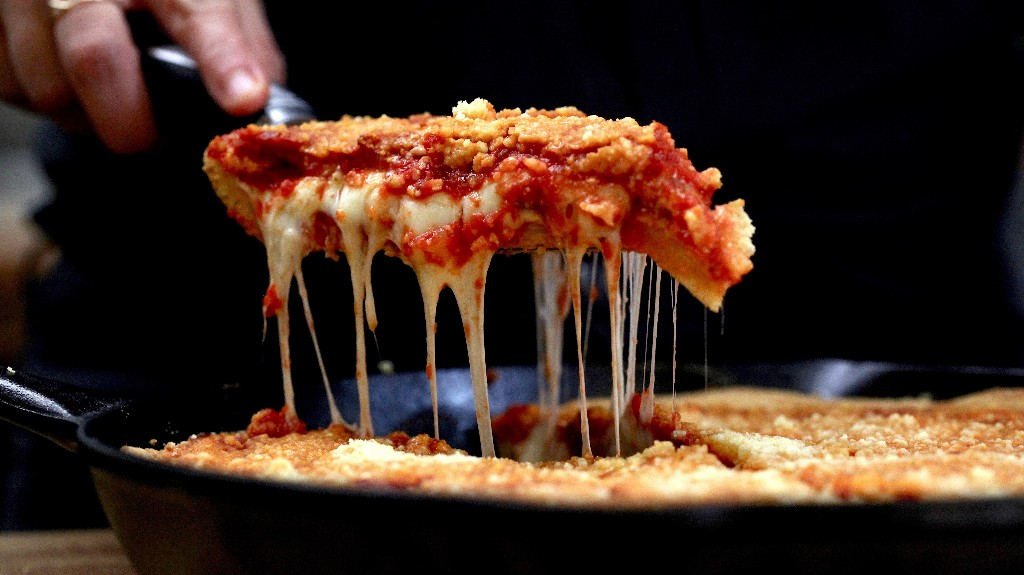 Chicago-Style Deep Dish Pizza Recipe