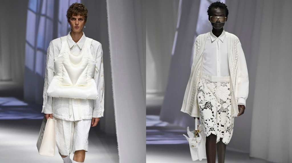 Fendi SS21 was an airy celebration of domesticity