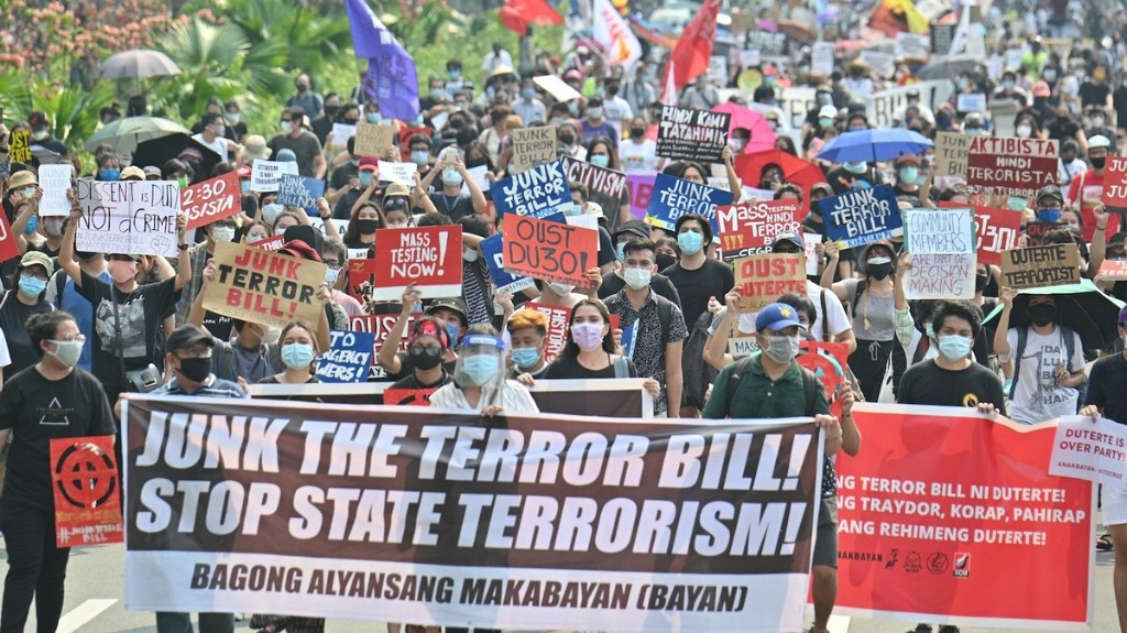 VICE - Duterte Just Signed the Philippines' Controversial Anti-Terrorism Bill Into Law
