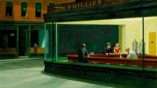 Realist Painter Edward Hopper Gets A Digital Update In These Animated GIFs