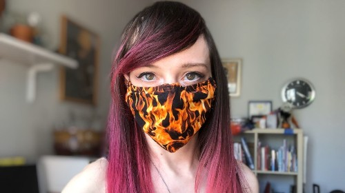 We're Running Out of Face Masks, But You Can Make One Yourself
