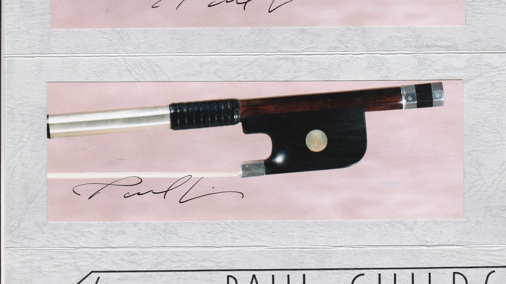 This Cello Bow Costs $175,000