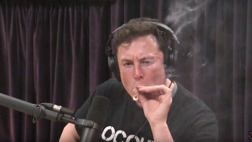 Well, Elon Musk Just Ruined Weed for Everyone