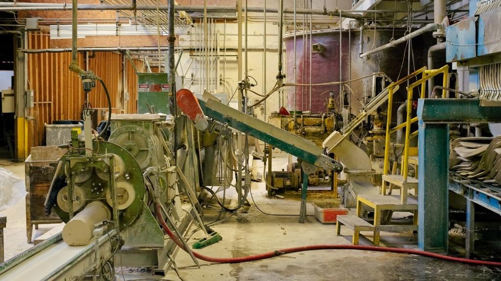 La beauté tranquille des usines industrielles américaines
