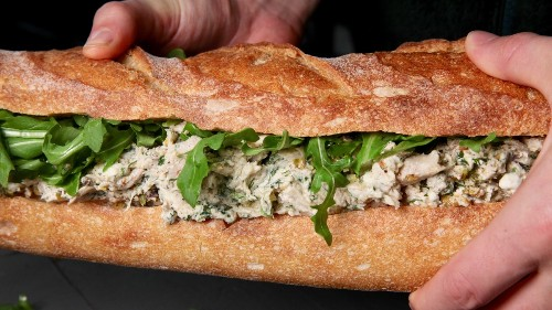 Chicken Salad with Tahini and Herbs Recipe