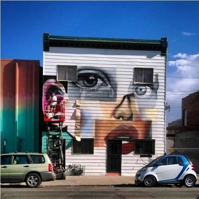75 Muralists Descend on Downtown Denver for a Street Art Festival