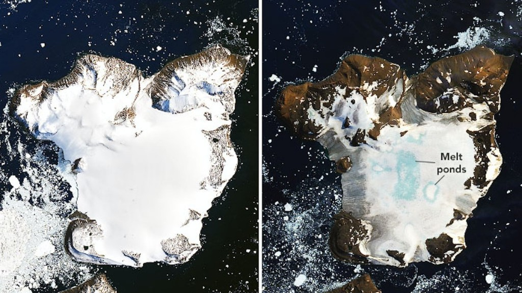 NASA Reveals Shocking Ice Cap Melt in Antarctica After Record Heat