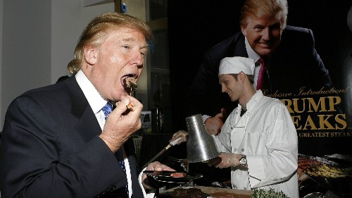 Jetzt wissen wir es: So merkwürdig isst Donald Trump im Weißen Haus