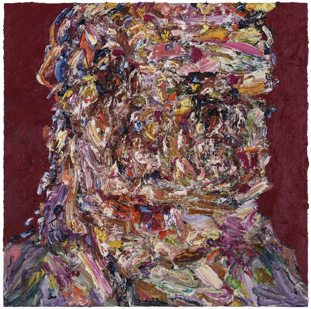 Self-Taught Painter Sculpts Monumental Portraits With Oil Paint