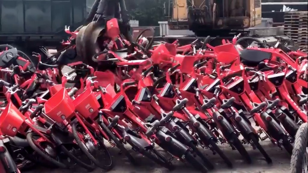 'A Shameful Nightmare': Truckloads of Perfectly Good JUMP Bikes Are Being Shredded