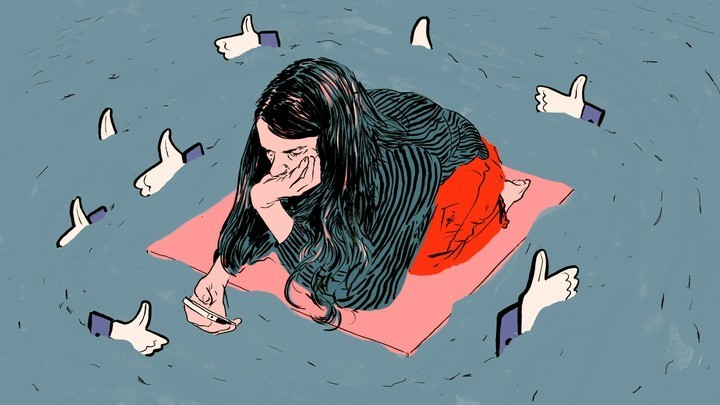 Cyberbullying  - Magazine cover