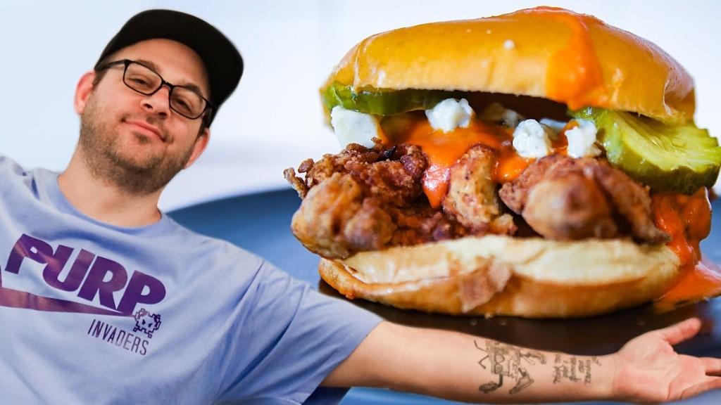 Pro Stoner, Amateur Cook: Buffalo Chicken Sandwich