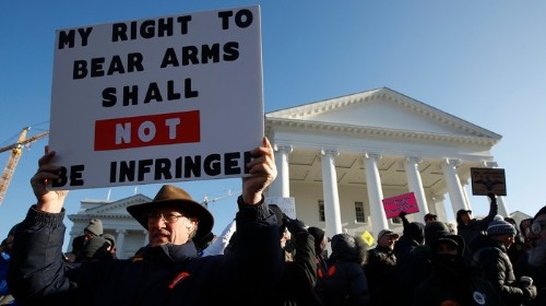 Those 22,000 Protesters Didn't Stop the Virginia Senate From Passing This Gun Law