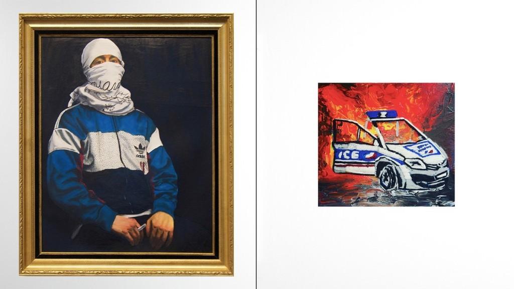 VICE - Au nom des nôtres : la lutte des classes en peinture sur toile