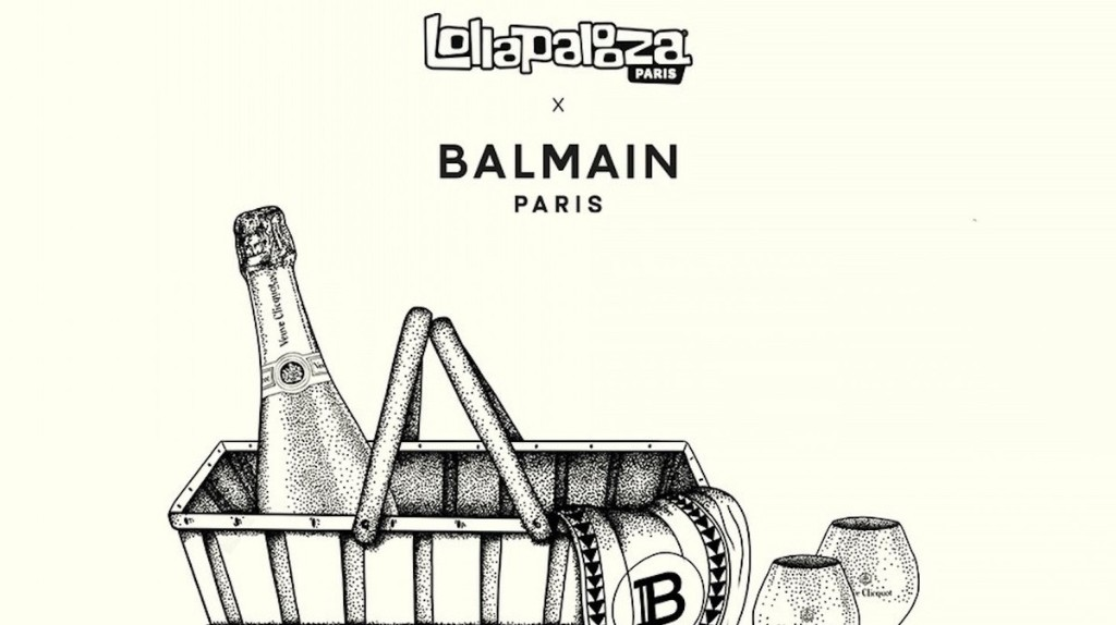 LOLLAPALOOZA PARIS x BALMAIN PARIS