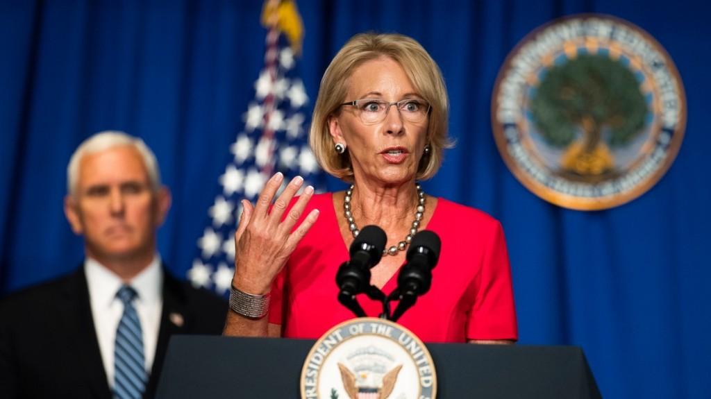 Betsy DeVos' School-Reopening Plan Is Already Getting a Big Fat F