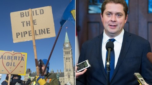 Andrew Scheer Criticized For Support of United We Roll Convoy