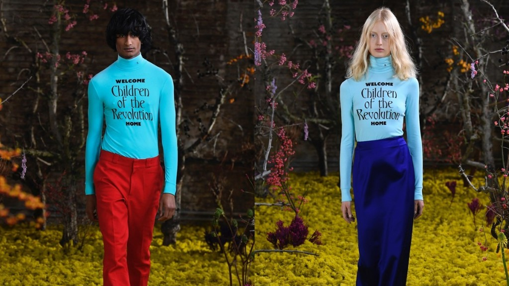Raf Simons SS21 was a twisted take on 80s cult classic movies