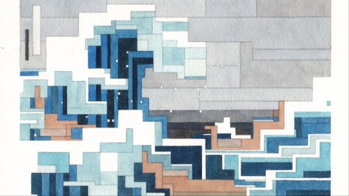 Pixel Watercolors Are the Art of Nostalgia
