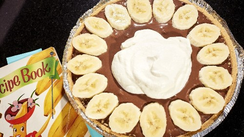 Banana Chocolate Cream Pie Recipe