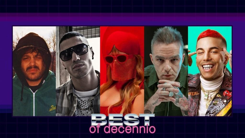 I cantanti, rapper e musicisti italiani più importanti del decennio