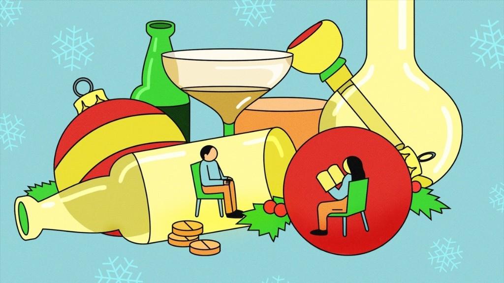 Cómo pasar las Navidades sin recurrir a las drogas o al alcohol