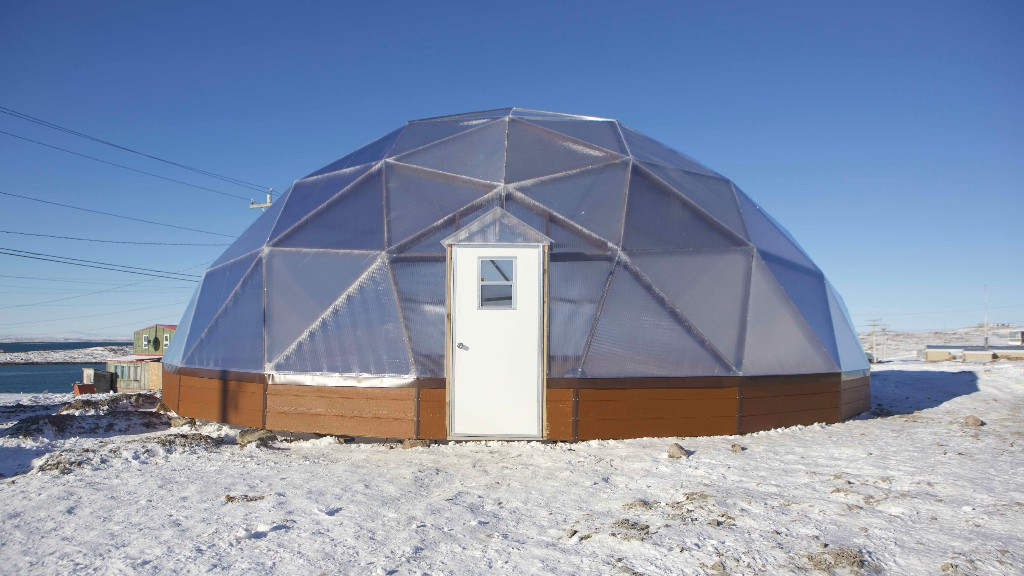 Greenhouses in the Arctic Will Reduce Food Insecurity in Canada's North