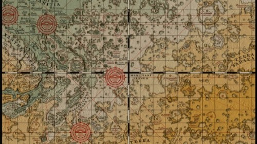 Now You Can Chart a Medieval Map of Mars