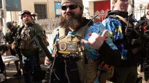 Incredibly, No One Shot Themselves at Virginia's Gun Rally
