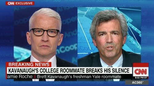 Kavanaugh's Ex-Roommate: Devil's Triangle Was Totally a Sex Thing