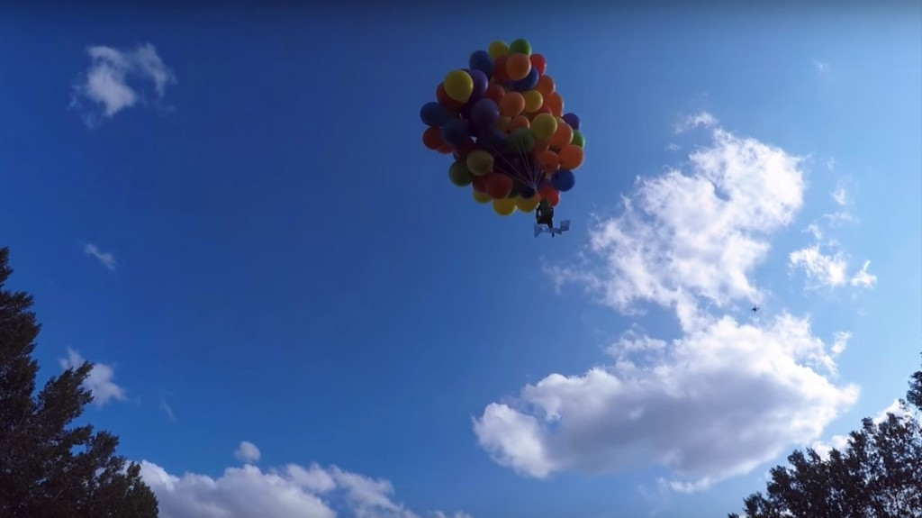 Canadian 'Balloonatic' Fined $25K for Flying With Balloons