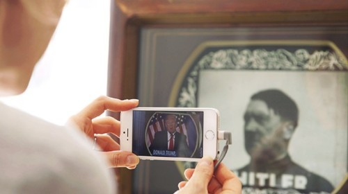 History Repeats Itself in a Found-Footage Augmented Reality Experience