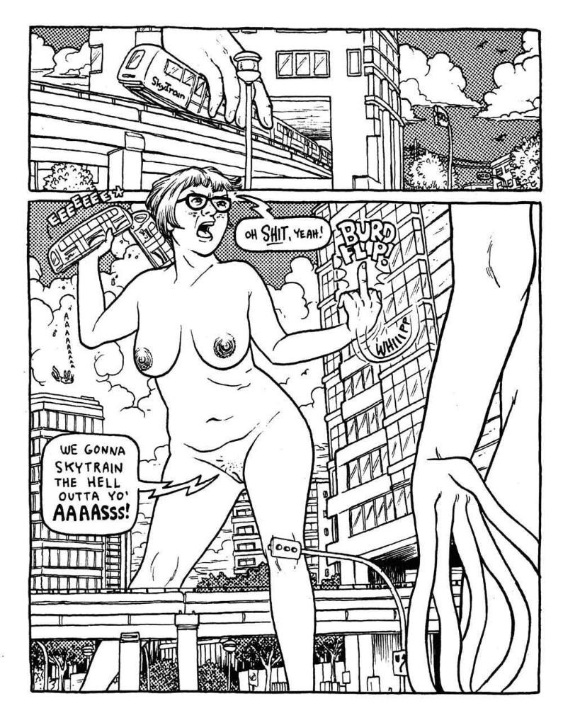 Comic Porm - Magazine cover
