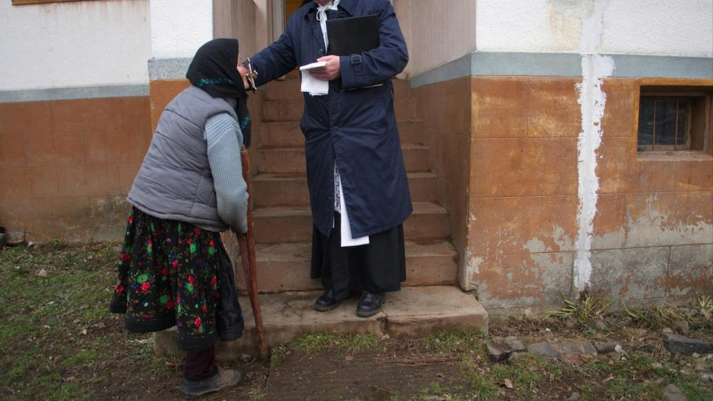 Photos of Romanians Having Their Homes Blessed by Priests
